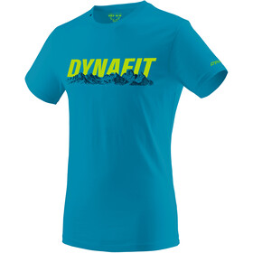 Dynafit Graphic Cotton SS Tee Men bluejay/skyline